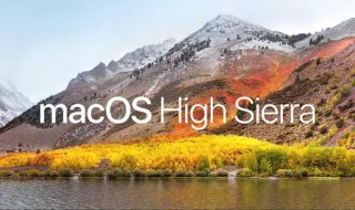 macOS High Sierra (Bildquelle: Apple WWDC 2017 Keynote)