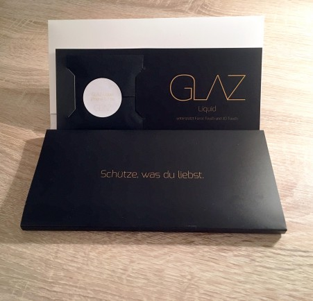 Review Glaz Liquid Displayschutz Fur Iphone 6s Und Apple Watch
