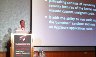 Pod2g-on-Stage-HITBSecConf