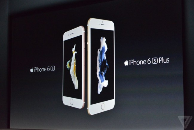 iPhone 6s und 6s Plus (Bildquelle: TheVerge.com)