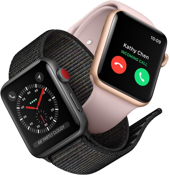 Apple Watch series 3 (Bildquelle: Apple PR)
