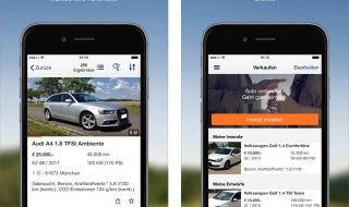 AutoScout24 (Bildquelle: AutoScout24 Screenshots/Apple App Store)
