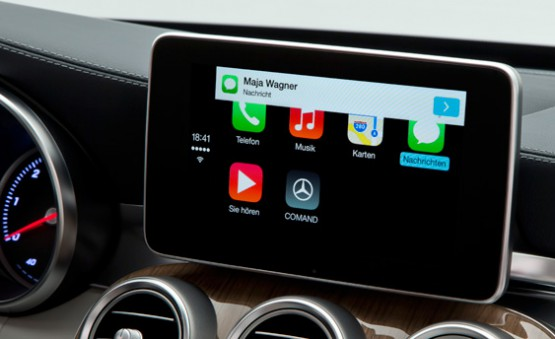 carplay-mercedes-benz (Bildquelle: engadget.com)