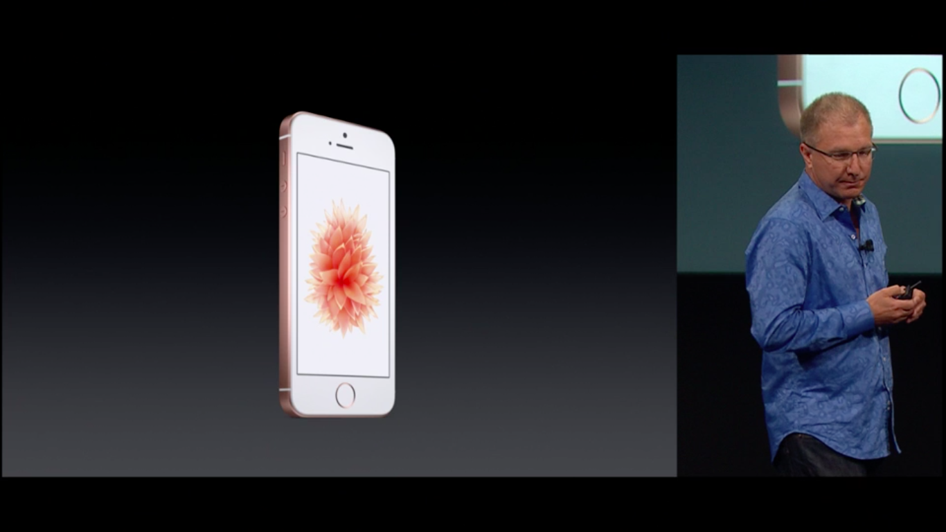iPhone SE Keynote (Bildquelle: Apple)