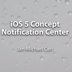 iOS 5 Notification Center Konzept von Jan-Michael Cart