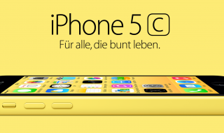 iPhone 5c (Bildquelle: Apple)