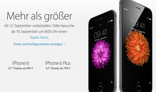 iPhone 6 (Bildquelle: Apple)