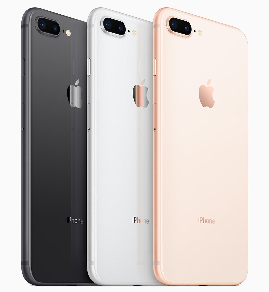 iPhone 8 und iPhone 8 Plus (Bildquelle: Apple Produktbild)