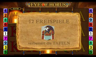 Eye of Horus (Bildquelle: Merkur)